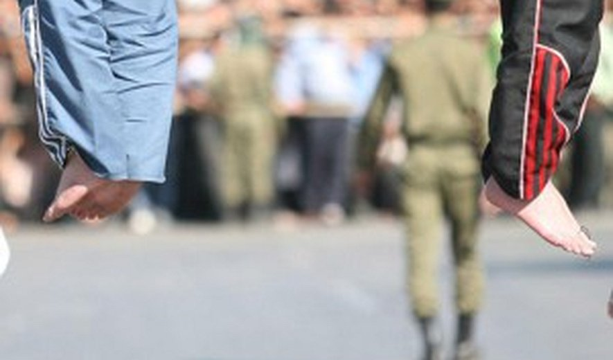 Two Prisoners Hanged to Death in Rasht on Saturday