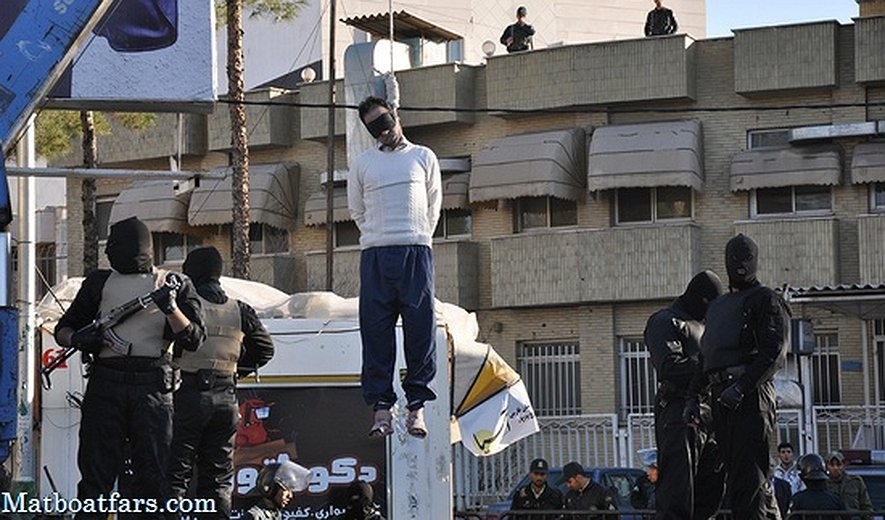 Southern Iran: Man Hanged in Public in Shiraz